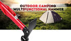 Ultra-light Aluminum Multifunction Camping Tent Peg Nail Hammer Outdoor HikingN