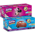 Huggies Pull-Ups Plus Boy or Girls Box Case - 124 or 116 or 102 CT - PICK SIZE