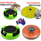 Catch The Mouse Training TOY Interactive Cat's Meow Toy Undercover Moving Mouse