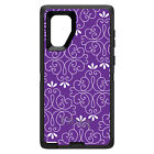 OtterBox Defender for Galaxy Note 5 8 9 Purple White Floral