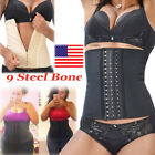 Sweat Neoprene Hot Body Shaper Waist Trainer Slimming Cincher Sauna Vest Belt US