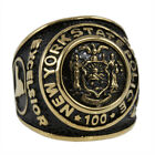 NYSP Ring Gold New York State Police 100 Anniversary Ring