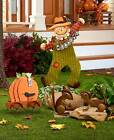 Rustic Fall Garden Decor & Welcome Stake Thanksgiving Harvest Yard Patio Statue