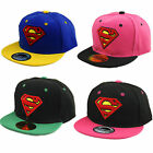 Kids Girl Boy Baseball Cap Child Superman Hip-hop Adjustable Summer Snapback Hat