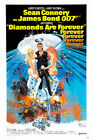 Posters USA - 007 Diamonds Are Forever Movie Poster Glossy Finish - MOV191 $16.95 USD on eBay
