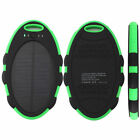 5000mAh Waterproof Solar Power Bank Charger For Android Phone Tablet PC iPhone