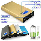 New Dual 1A/2A USB LED Power Bank Charger Pack 4pcs 18650 Battery Box Case DIY