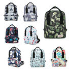 Fashion Backpack Printing Pattern Shoulder School Bag Travel Satchel 8 Styles