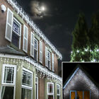 24V Connectable Christmas LED Icicle Fairy Lights | Outdoor Garden Home Party