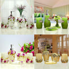 5Pcs 3D Flower Bathroom Accessories Sets Soap Holder Toothbrush Cup Resin New