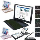Rotatable 7 Colour Backlit Wireless Bluetooth Keyboard Case Smart Cover For iPad