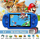 console portable - 8GB 4.3 Inch Built In 2000 Game USB Portable Handheld Video Console Player Gift