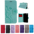Huawei P8 Lite Leather Wallet Case Card Slot Stand Flip Strap Belt Loop Cover