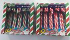 10, 20, 40 CANDY CANES CHRISTMAS TREE FESTIVE DECORATIONS STRIPY CANE SWEETS
