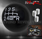 FOR NISSAN F'ING FAST SOLID ROUND BALL M/T GEAR LEVER SHIFTER SHIFT KNOB WHITE