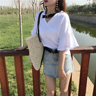 girl Fashion Dual D-ring Metal Buckle Adjustable Solid Color Canvas Belt Newly