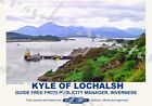Vintage Style Railway Poster Kyle of Lochalsh A4/A3/A2 Print