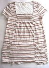 Anthropologie By Meadou Rue Striped Marin Tunic T-Shirt  Size S,M,L NWT