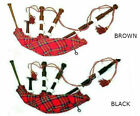 NEW IMPORTED FULL SIZE NATURAL ROSEWOOD SCOTTISH BAGPIPES SETS NEW - CP MADE