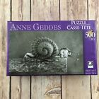 Anne Geddes Jigsaw Puzzle 500 piece Karmin Baby Snail Black White New Sealed