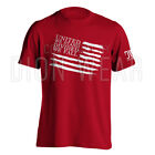 American Flag United We Stand Divided We Fall Military Men's T-shirt image