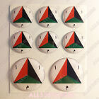 8 x Roundel Cockade Afghanistan3D Stickers Resin Domed Adhesive Air Force