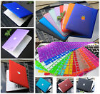 "Rubberized Hard Case Shell +Keyboard Cover for 2016 Macbook Pro 13/15"" Air 11/13"