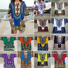 Dashiki Mens Shirt African Top Hippie Vintage Boho Tribal Womens Blouse HOT SALE