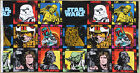 STAR WARS LARGE 19cm character blocks 100% cotton fabric : by the 60cm panel