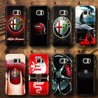 alfa romeo luxury car Logo Sports Thin  UV Case Cover for Samsung Galaxy S,J,A