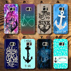 Infinity Anchor I refuse to sink Thin  UV Case Cover for Samsung Galaxy S,J,A