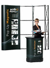 Magnetic Pop-up Banner Stand -incl Hard Counter trolley  (printing exlcuded)