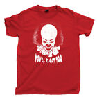 IT T Shirt PENNYWISE Killer Clown Chud Stephen King Derry Maine Losers Club Tee