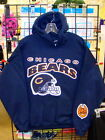 CHICAGO BEARS Navy Blue HOODIE, - Sizes S M L  XL 2XL 3XL 4XL 5XL
