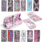Realtree Browning deer Camo Wallet Flip Leather case for  Samsung A1-0007J