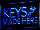 i520-b Keys Made Here Locksmiths NEW Neon Light Sign