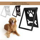 Cat Dog Pet Door Window Screen Magnetic Flap Footprints Bones Door Entry&Exit US