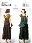 Sewing patten for ladies Edwardian Downton Abbey style dress 6-22 B6399