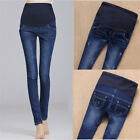 Внешний вид - Maternity Pregnant Women Jeans Pants Stretchy Blue Cotton Nursing Trousers Hot!