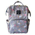 Multifunctional Diaper Bag Ergo Large Nappy Baby Backpack Waterproof Nappy Mom