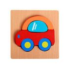 Children Kid Wooden Block Puzzle Educational Toy For Over 3 Years Old Boys Girls