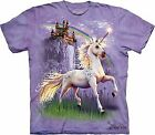 Unicorn Castle Adult T-Shirt by The Mountain - 103146