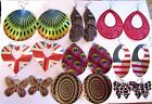 SELECTION OF METAL EARRINGS CHOICE OF STYLES & PATTERNS FANCY DRESS UK DELIVERY
