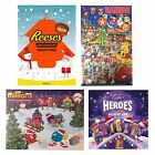 Haribo / Reese's / Millions Sweets Chocolate Christmas Xmas Kids Advent Calendar