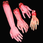 Halloween Scary Fake Body Parts Severed Arm Hand Tricky Spoof Foot Props US