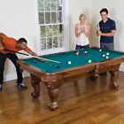 """87"""" Billiard Pool Table Indoor Sports Game Accessories Cues Balls Chalk Triangle $469.99 USD"""