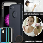 For Apple iPhone 6S 7 Plus AntiGravity Nano Suction Case Hybrid Shockproof Cover