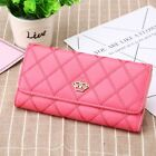 New Fashion Women Lady PU Leather Clutch Wallet Long Card Holder Purse Handbag