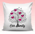 FAMILY TREE HOME LOVE PERSONALISED CUSTOM MADE PILLOW CUSHION GIFT PRESENT