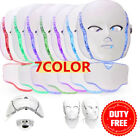 7 Colors PDT Photon LED Facial Mask Skin Rejuvenation Beauty Therapy Wrinkles